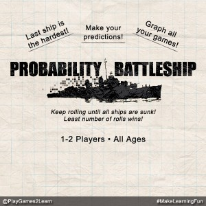 PlayGames2Learn.com - Probability Battleship