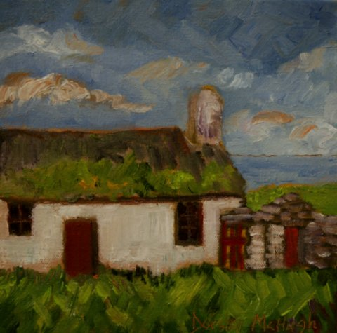 Solitude a new painting by Dorsey McHugh