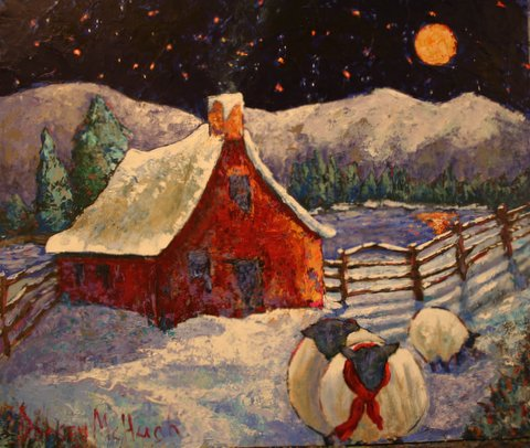 Pretty Fine a new painting by Dorsey McHugh