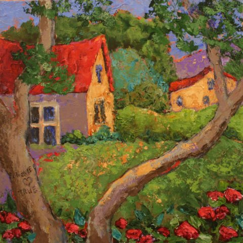 Patience loves true - a new blog post and painting by Dorsey McHugh