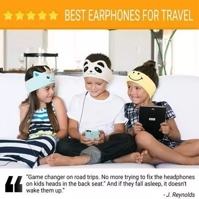 CozyPhones Kids Headphones Volume Limited