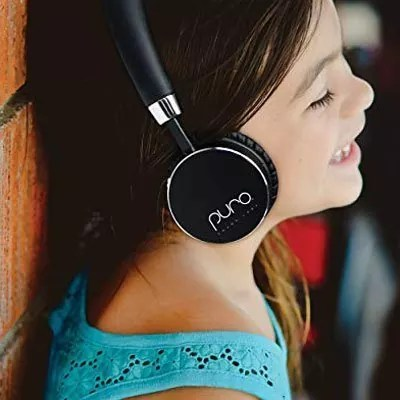 Puro Sound Labs BT2200 Kids Volume-Limiting On-Ear Wireless Headphones