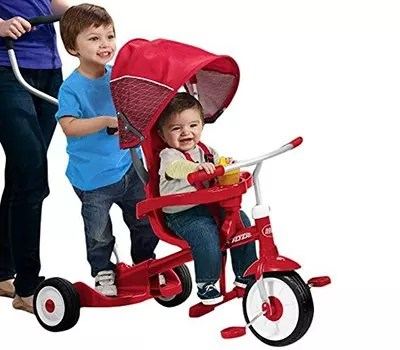 Radio Flyer Ride and Stand Stroll 'N Trike