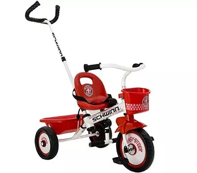 Schwinn Easy Steer Tricycle, Red White
