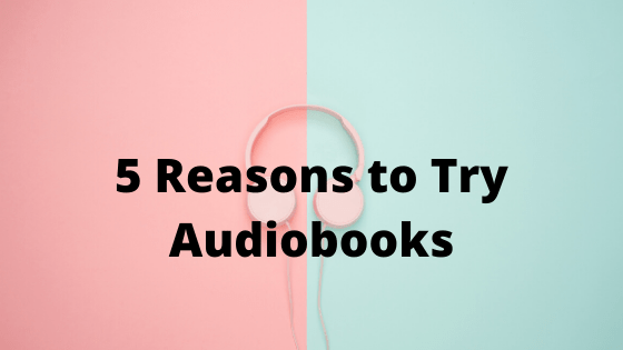 audiobook with earphones