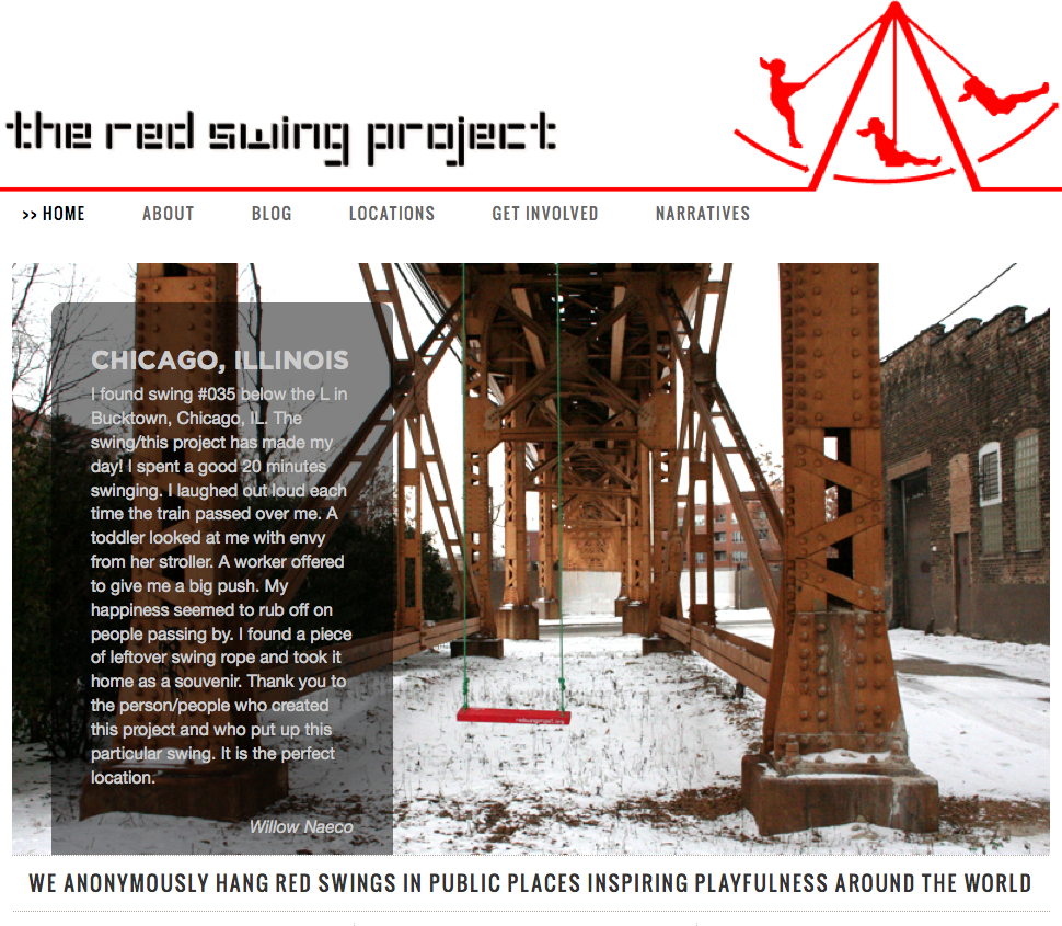 The Red Swing Project PlayGroundology