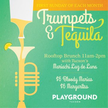 TRUMPETS and TEQUILA SUNDAY BRUNCH with MARIACHI LUZ de LUNA @ Playground Bar & Lounge