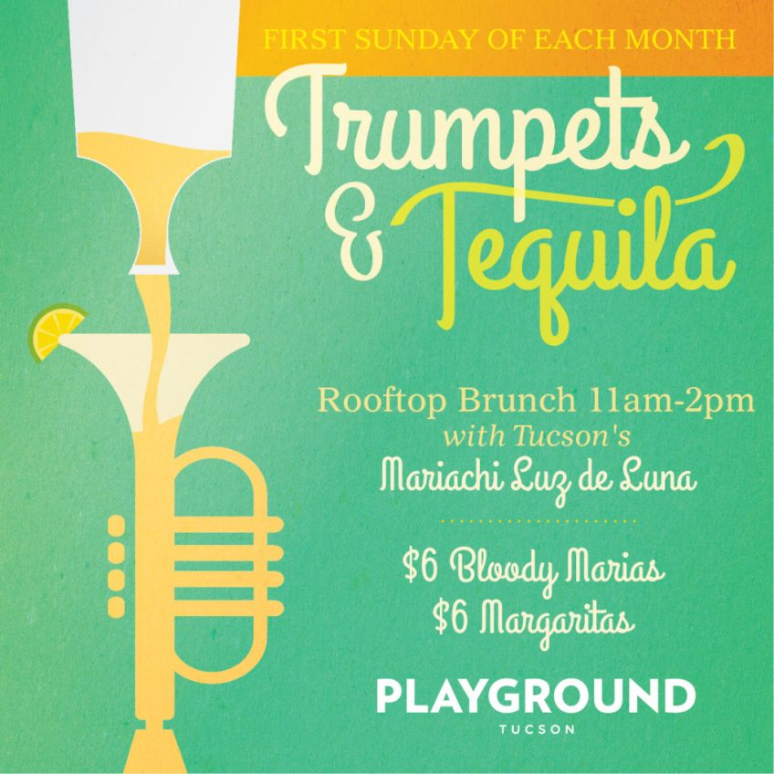 TRUMPETS AND TEQUILA SUNDAY BRUNCH