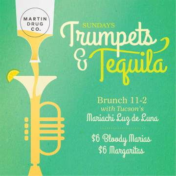 TRUMPETS and TEQUILA SUNDAY BRUNCH with MARIACHI LUZ de LUNA @ Playground Bar & Lounge | Tucson | Arizona | United States