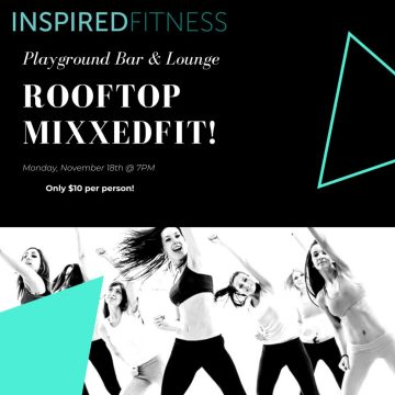 Rooftop MixxedFit with Inspired Fitness