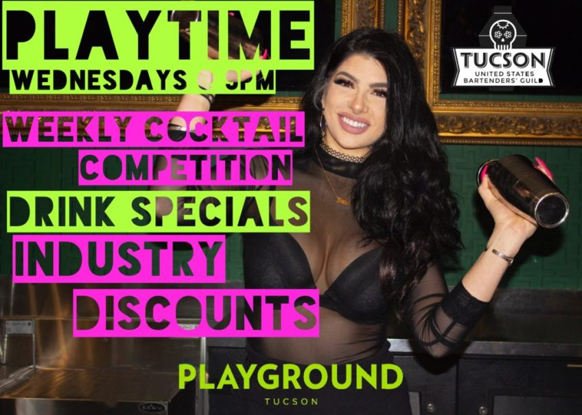 PLAYLAND WEDNESDAYS INDUSTRY NIGHT AT PLAYGROUND BAR AND LOUNGE