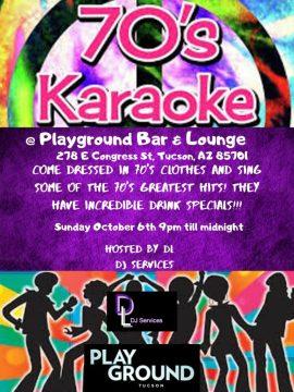 70s Themed Karaoke