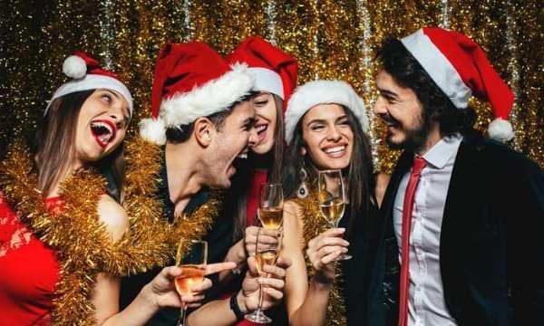 Santa Holiday Bar Crawl
