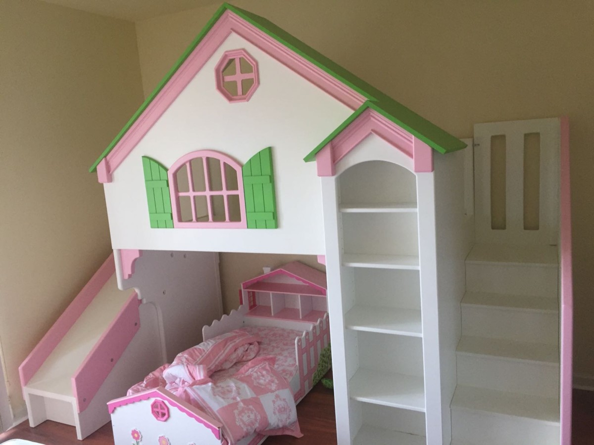 Dollhouse Loft Bed Themed Beds By Tanglewood Design