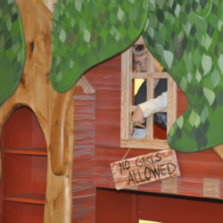 Trevor S Treehouse Bunk Bed And Indoor Playhouse