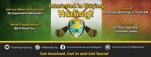 Wild Geese Hurling Interested in Playing Hurling in the OC