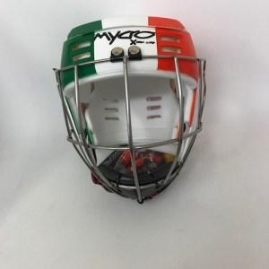 Hurling Helmet Mycro Irish Flag Tricolor Paddys day 2
