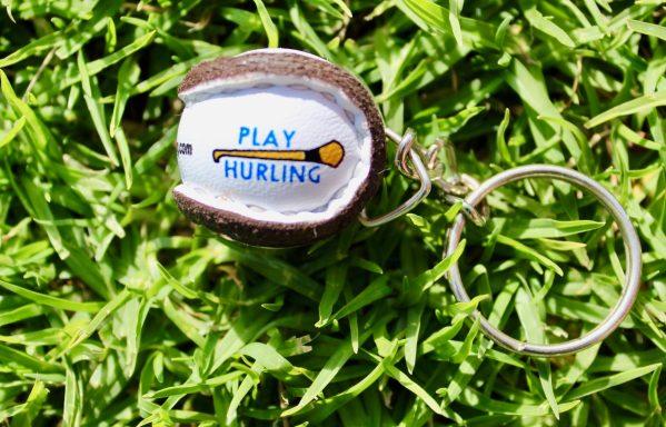 Play Hurling Sliotar Keyrings 3