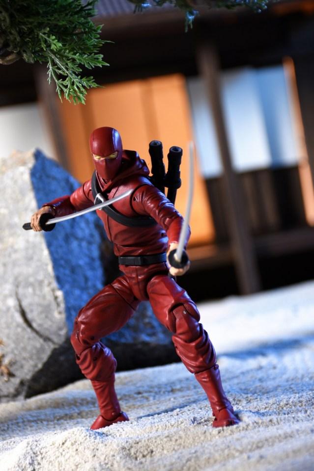 Red Ninja poster