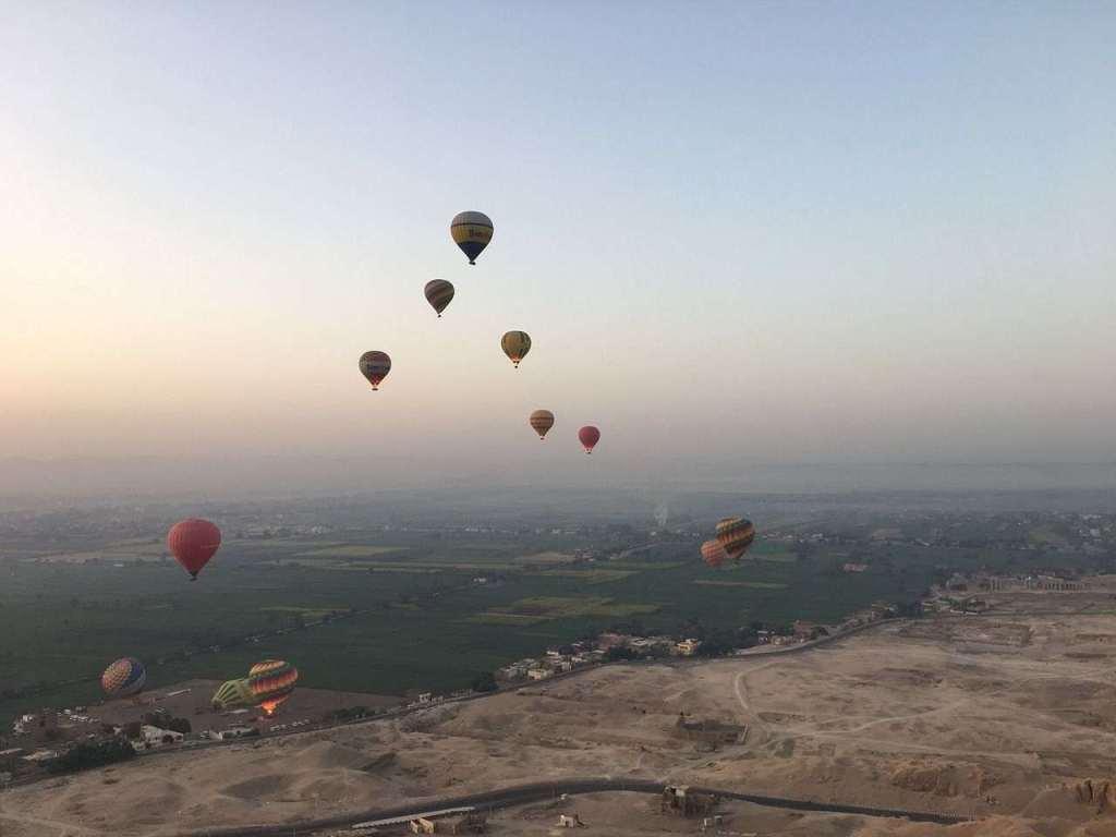 埃及熱氣球