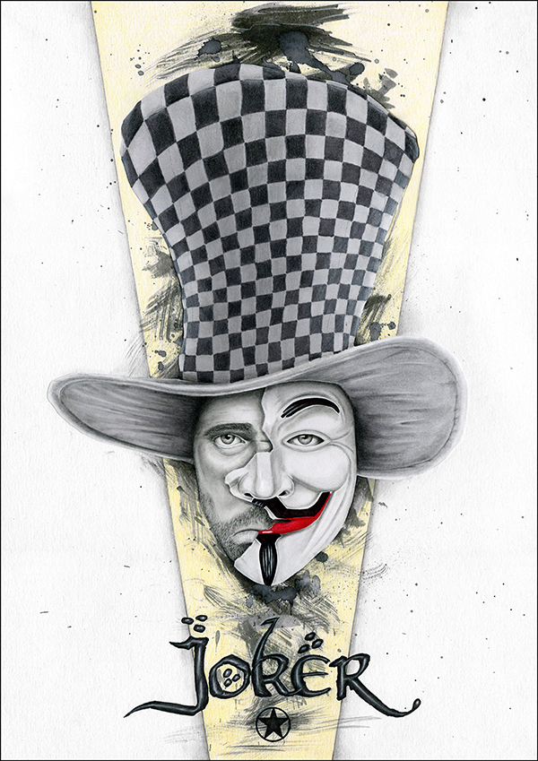 Bhance Joker By Dimitrios Kyriazis PLAYING CARDS ART