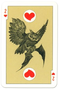 2 of hearts dark power Russian fairy tale cards