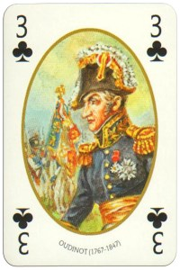 3 of clubs Face et Dos deck Empire by Carta Mundi