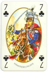 7 of clubs Face et Dos deck Empire by Carta Mundi