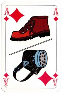#PlayingCardsTop1000 – Ace of diamonds Deck Bouw Veilig for Dutch building company