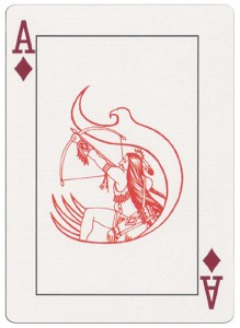 Ace of diamonds deck for indian casinos in the USA