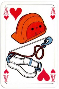 Ace of hearts Deck Bouw Veilig for Dutch building company