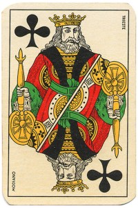 #PlayingCardsTop1000 – King of clubs Carte da gioco Genovesi