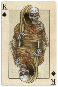 King of spades Edgar Allan Poe deck of playing cards by Bicycle