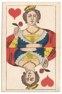 Queen of hearts Franfortoises deck Speelkaarten Fabriek Nederland