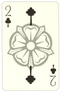 "Wars of roses playing card 2 of clubs<span class=""rmp-archive-results""><i class=""star-highlight fa fa-star fa-fw""></i><i class=""star-highlight fa fa-star fa-fw""></i><i class=""star-highlight fa fa-star fa-fw""></i><i class=""star-highlight fa fa-star fa-fw""></i><i class=""star-highlight fa fa-star fa-fw""></i> <span>5 (1)</span></span>"