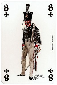 infantry 8 of clubs Deck Waterloo battle