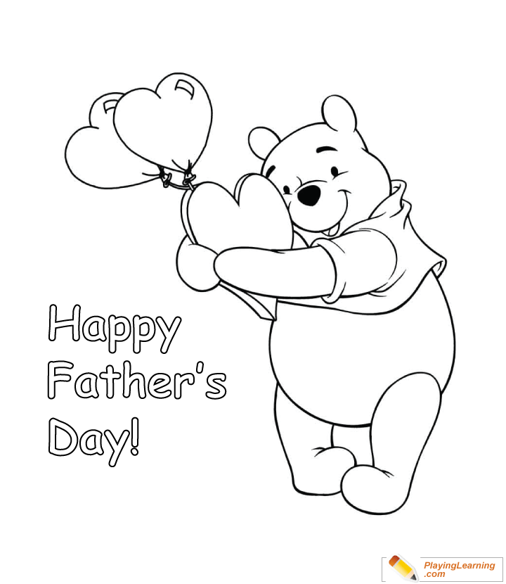Happy Fathers Day Coloring Page 08 Free Happy Fathers Day Coloring Page