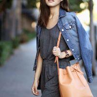 The Only Bag You'll Need This Season :: BUCKET BAG