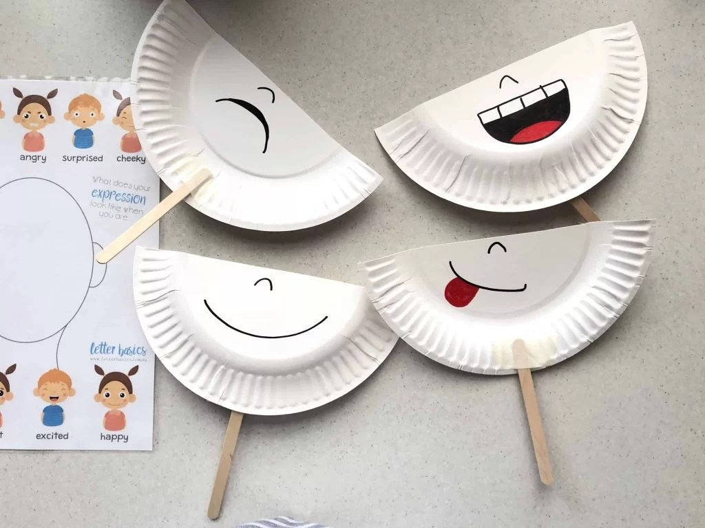 Reading Expressions With Diy Emotion Masks