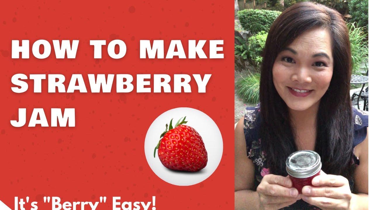 Easy Strawberry Jam by Jessica McMurdie
