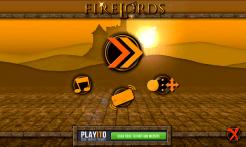 FireLords - menu screen