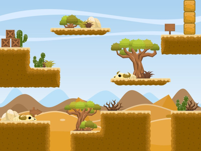 2D textures for desert style platform games   Playlectric 2D textures for desert style platform games