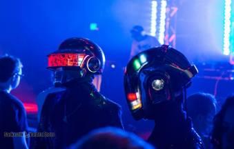 Daft Punk made an apperance