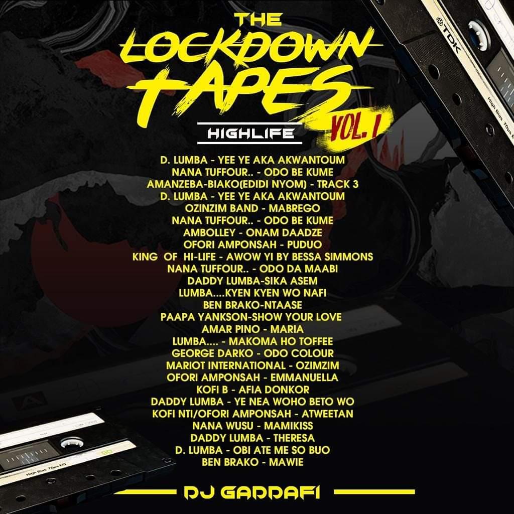 DJ Gaddafi - The Lockdown Tapes (Vol. 1)