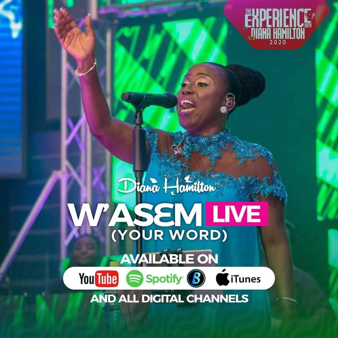 Diana Hamilton - W'asem (Live Version)