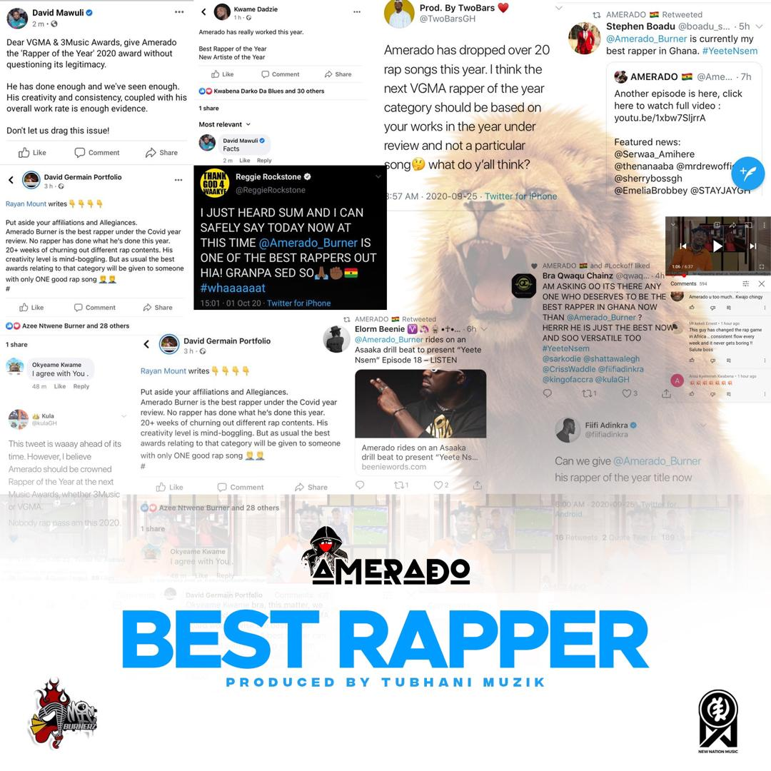 Amerado - Best Rapper