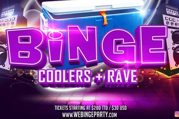 "@bingeparty Trinidad Carnival Sunday!!! -""COOLERS & RAVE"" Sunday February 11th 2018 TIME: 4pm-11pm WHERE: Anchorage Beach Club #trinidadcarnival18 #Binge #Beach #Rave #Bingeparty #coolers"
