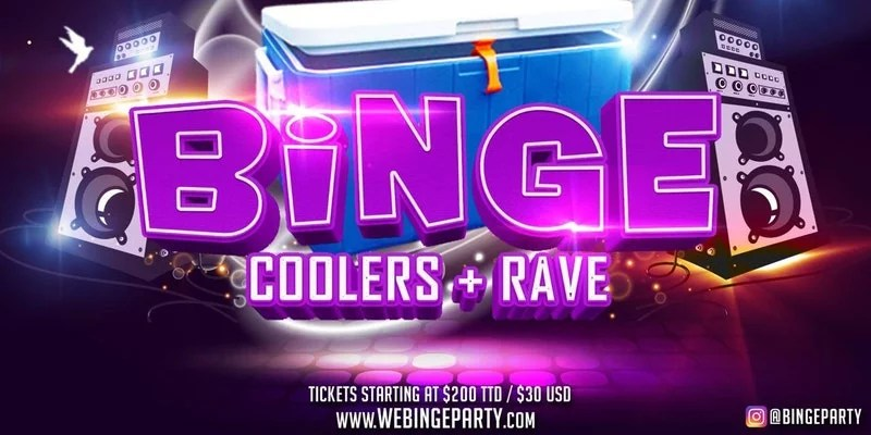 """@bingeparty Trinidad Carnival Sunday!!! -""""COOLERS & RAVE"""" Sunday February 11th 2018 TIME: 4pm-11pm WHERE: Anchorage Beach Club #trinidadcarnival18 #Binge #Beach #Rave #Bingeparty #coolers"""