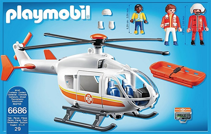 Playmobil Ambulance Helicopter