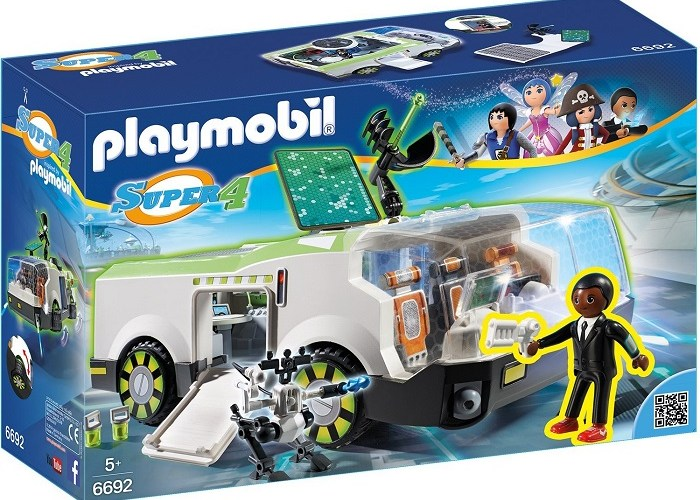 Playmobil Super 4 agent 6692